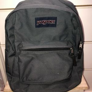 JanSport SuperBreak Backpack- Grey